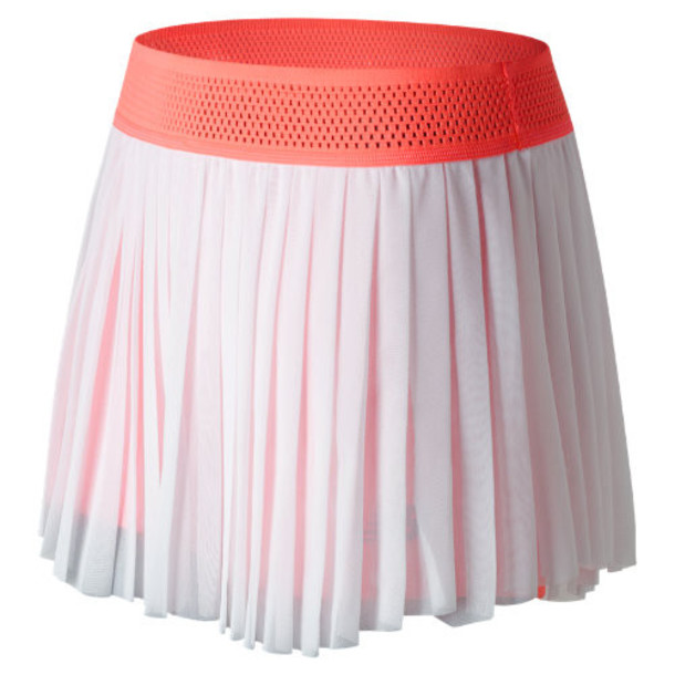 New Balance 71405 Women's Heath Skort - White/Pink (WK71405WSR)