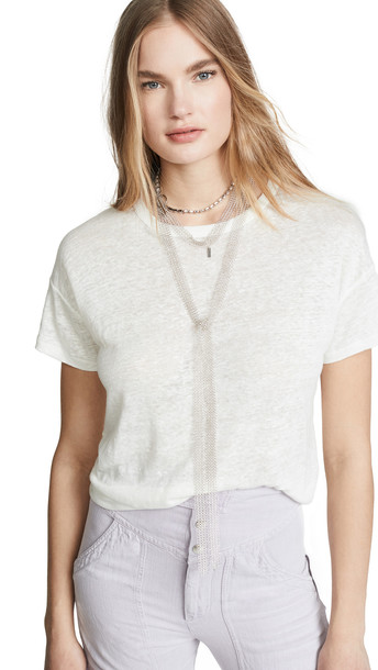 Isabel Marant Statement Necklace in silver