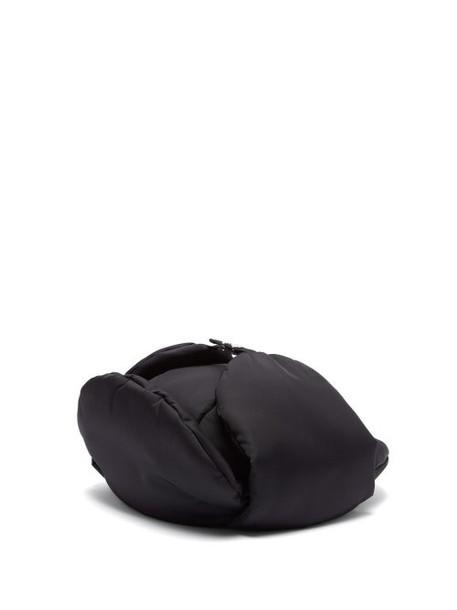 Prada - Padded Nylon Trapper Hat - Womens - Black