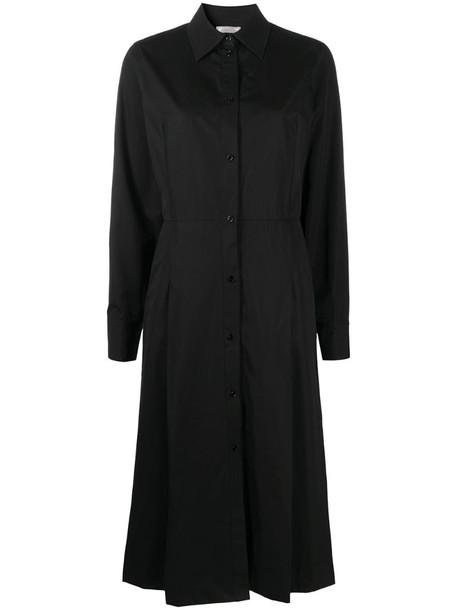 Nina Ricci midi shirt dress in black