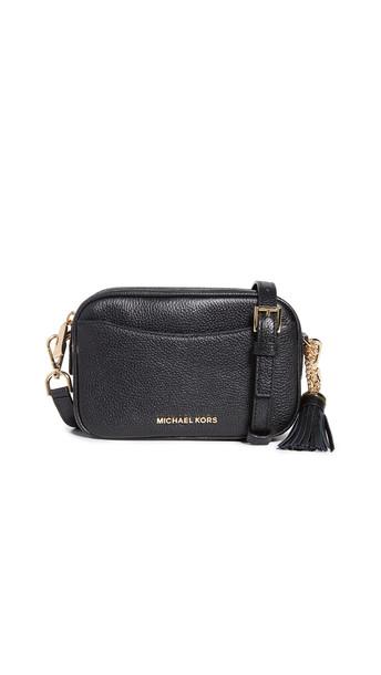 MICHAEL Michael Kors Small Camera Belt Bag Crossbody in black