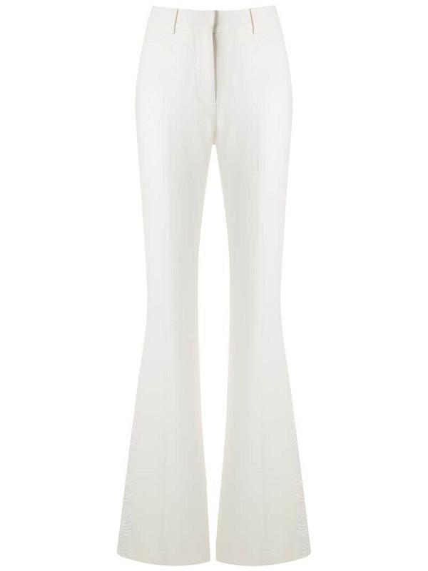 Martha Medeiros Genéve wide leg trousers in white