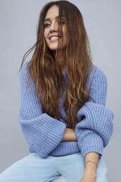 sweater,jessica alba,celebrity,knitwear,knitted sweater