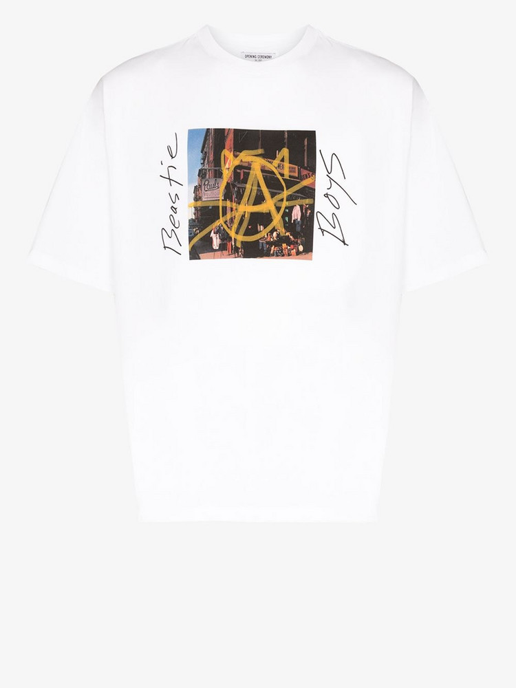 Opening Ceremony X Beastie Boys Anarchy T-shirt in white