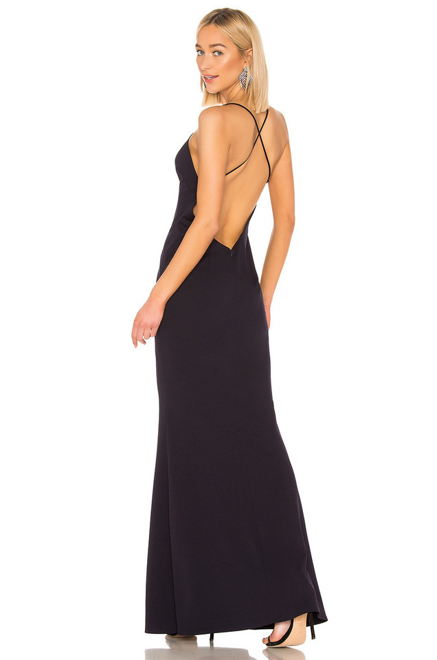 Katie May Stamina Gown in navy
