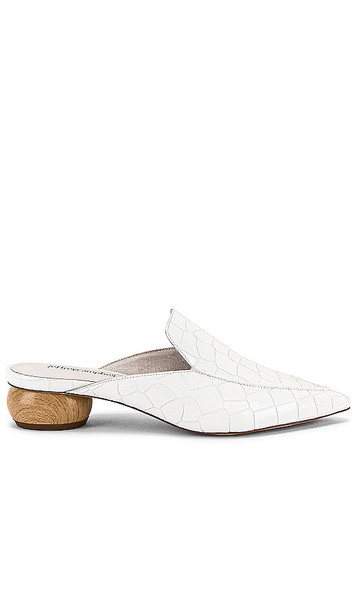Jeffrey Campbell Vionit Mule in White