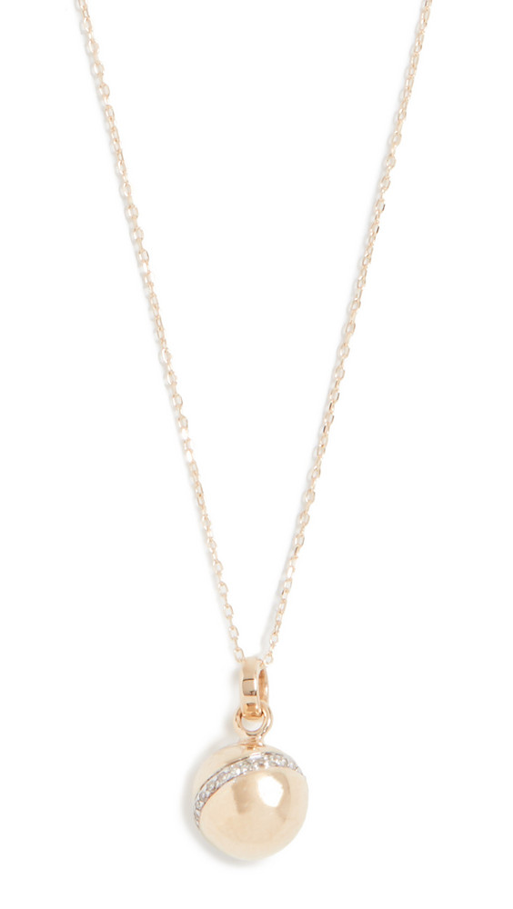 Adina Reyter 14k Pave Orbit Necklace in gold