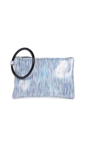 Oliveve Murphy Bracelet Clutch in blue