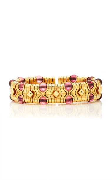 Eleuteri Vintage Charm Yellow Gold Bracelet