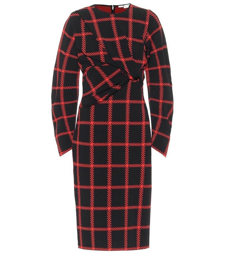 Stella McCartney Checked midi dress