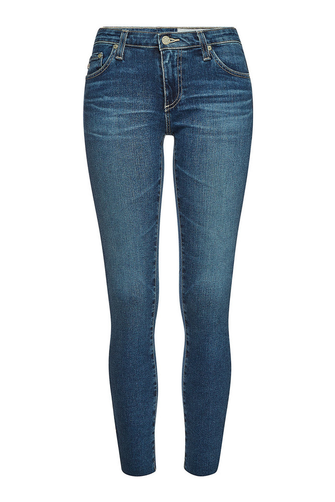 AG Jeans The Legging Ankle Skinny Jeans  in blue