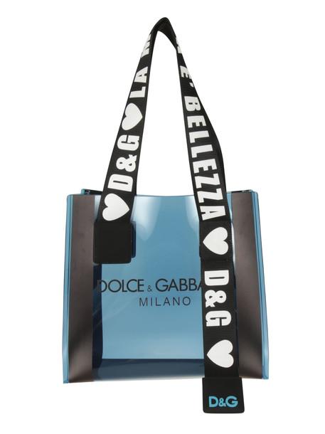 Dolce & Gabbana Belezza Shopper Bag in blue
