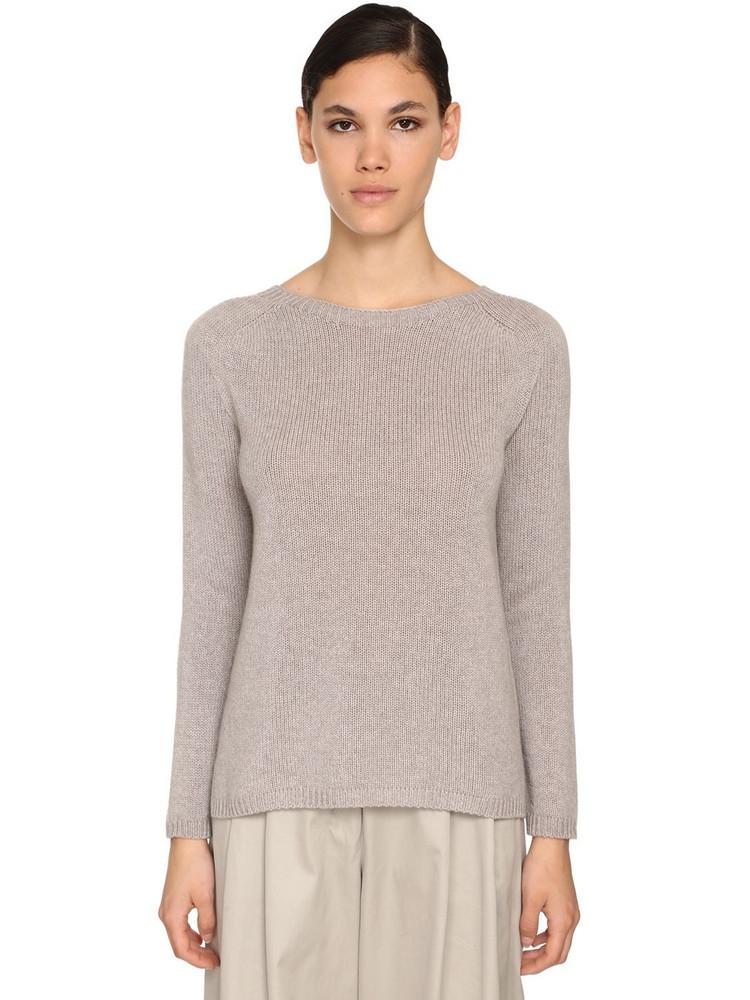 MAX MARA 'S Cashmere Knit Sweater in grey