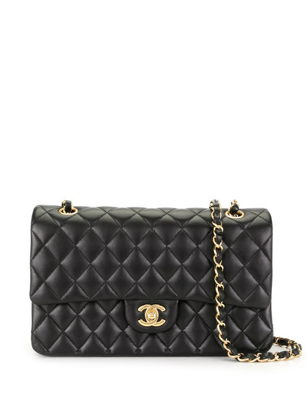 Chanel Pre-Owned 2018 Double Flap CC shoulder bag in black
