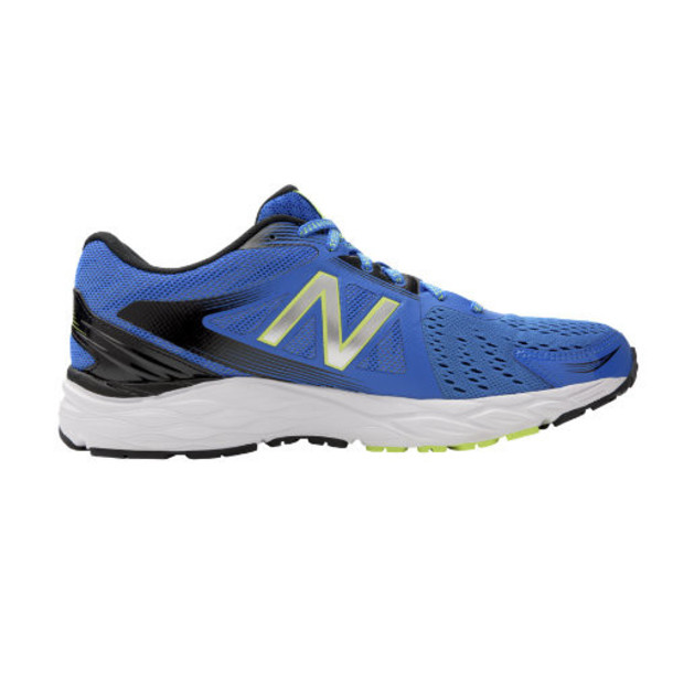 New Balance 680v4 Men's Everyday Running Shoes - Blue/Black/Yellow (M680LE4)
