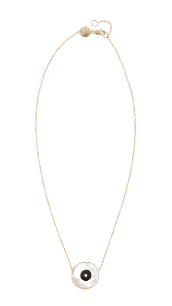 Jennifer Zeuner Jewelry Danai Necklace in yellow