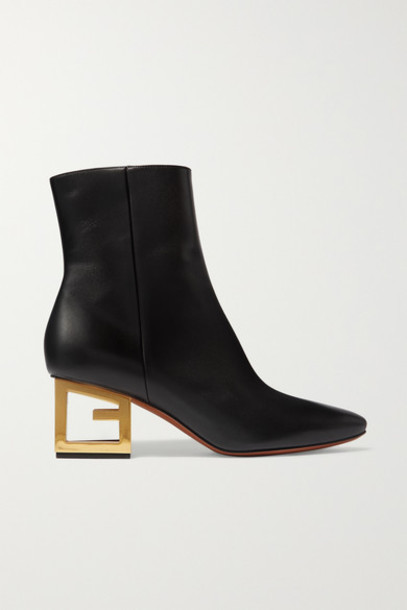 Givenchy - Leather Ankle Boots - Black