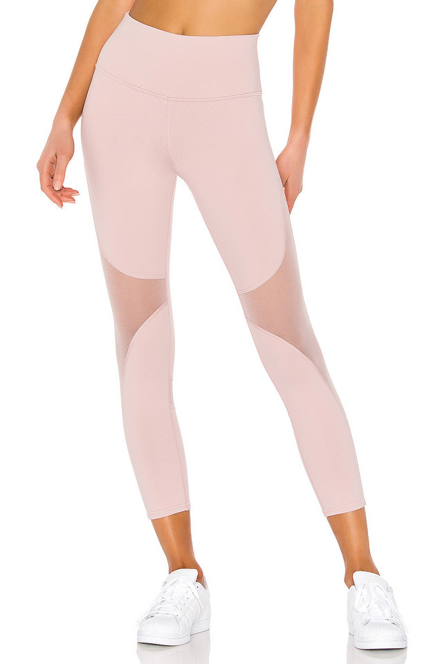 alo High Waist Coast Capri Legging in pink