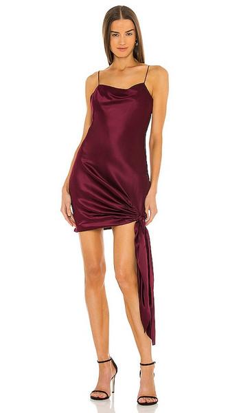 Cinq a Sept Ryder Dress in Wine in merlot