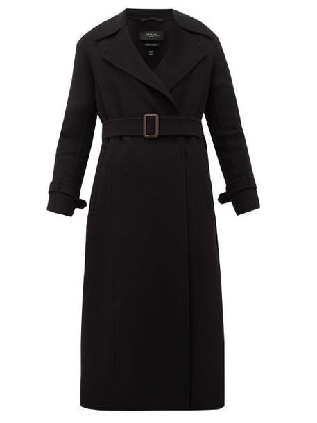 Weekend Max Mara - Aris Virgin Wool-blend Coat - Womens - Black