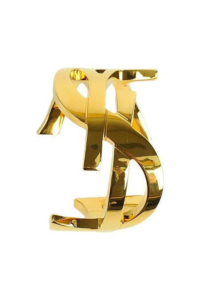 Saint Laurent Bracelet in gold