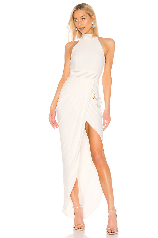 Zhivago Chatwal Gown in white