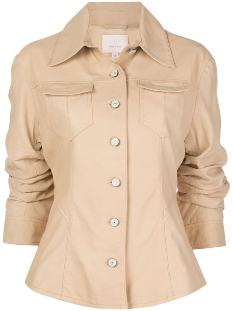 Cinq A Sept Canyon single-breasted jacket in neutrals