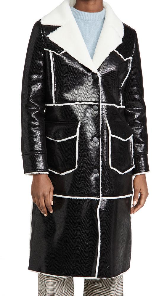 STAND STUDIO Adele Coat in black