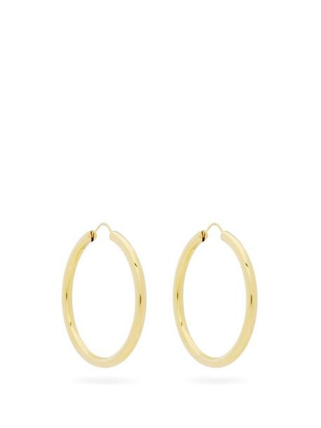 Theodora Warre - Large 18kt Gold-vermeil Hoop Earrings - Womens - Gold