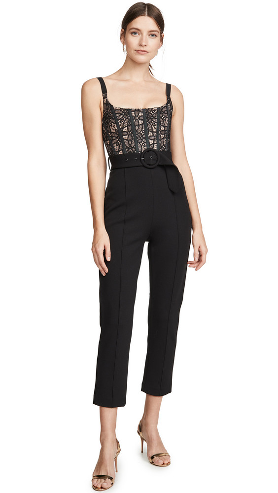 Misha Collection Ariella Jumpsuit in black