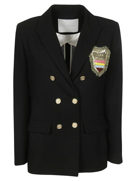 Giada Benincasa Double Breasted Blazer in black