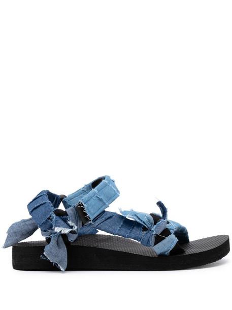 Arizona Love Trekky denim sandals in blue