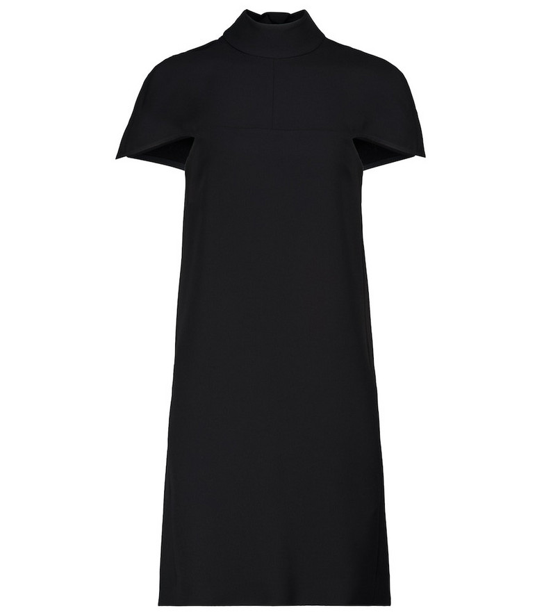 Victoria Victoria Beckham Crêpe minidress in black