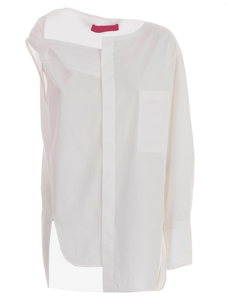 Y's Asymmetric Top in white