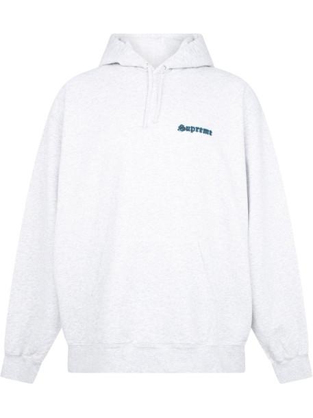 Supreme Supreme Love hoodie - White