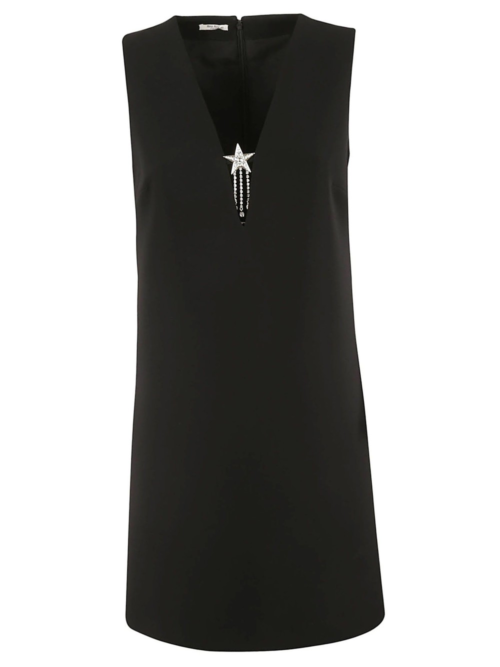 Miu Miu Cady Dress in black