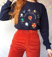 sweater,girly,girl,girly wishlist,crewneck sweater,crewneck,tumblr