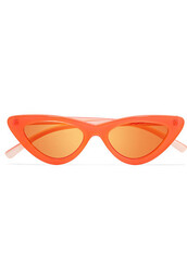 neon,lolita,sunglasses,mirrored sunglasses,orange
