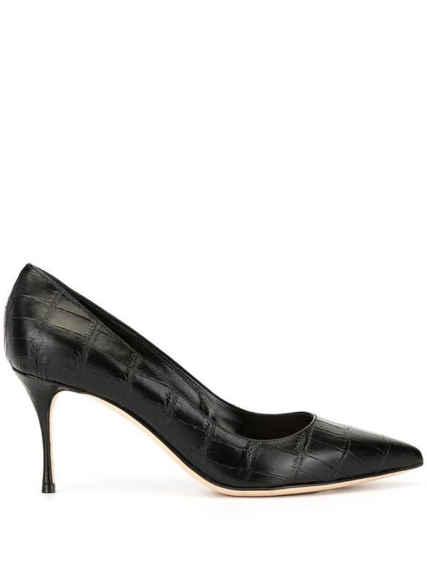 Sergio Rossi Godiva stiletto pumps in black