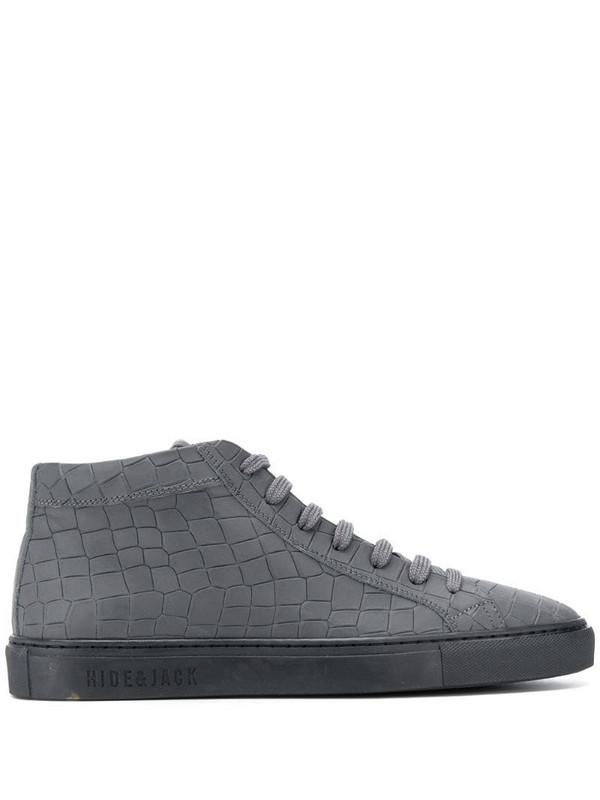 Hide&Jack Essence Tuscany high-top sneakers in grey