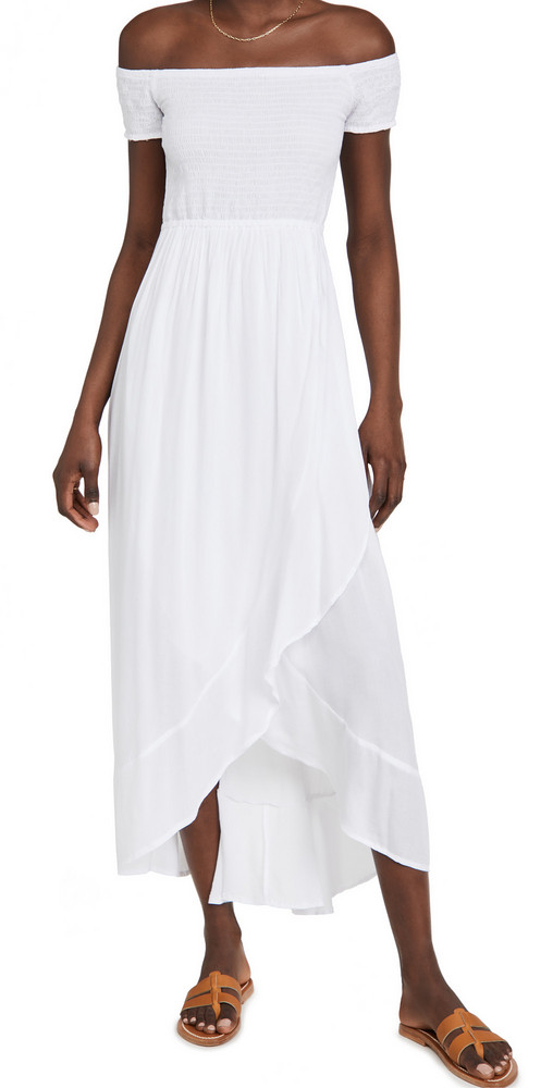 TIARE HAWAII Cheyenne Dress in white