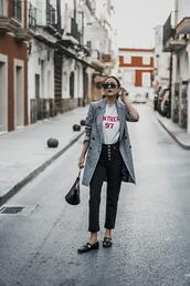 shoes and basics,blogger,jacket,t-shirt,jeans,bag,shoes