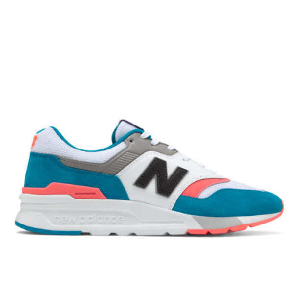 New Balance 997H Men's Classics Shoes - Blue/Pink (CM997HCS)