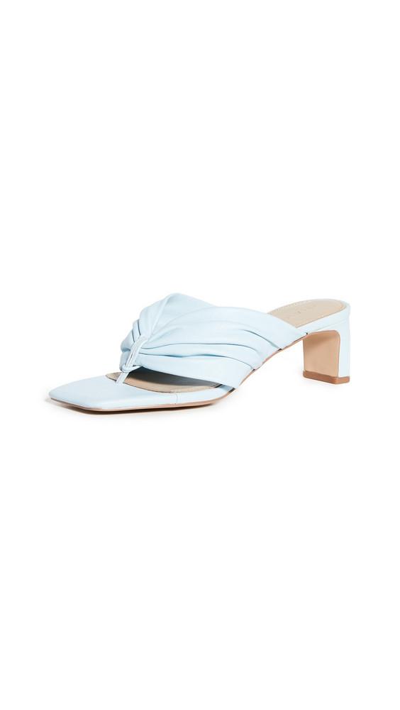 Villa Rouge Demi Square Toe Sandals in blue