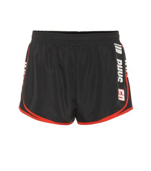P.E Nation Target running shorts in black