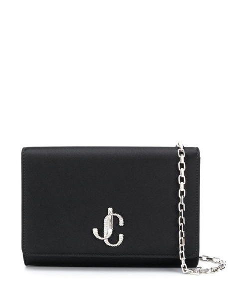 Jimmy Choo Varenne clutch bag in black