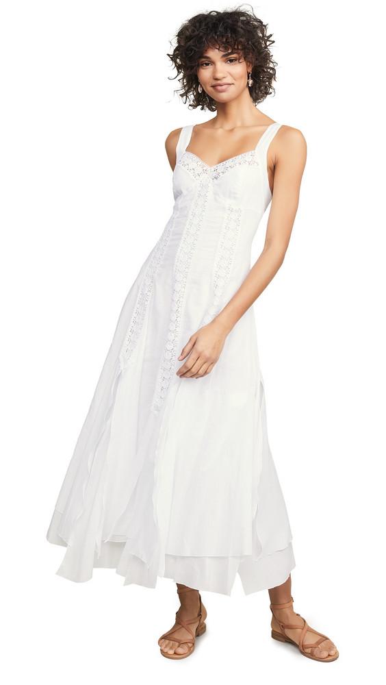 Charo Ruiz Corazon Dress in white
