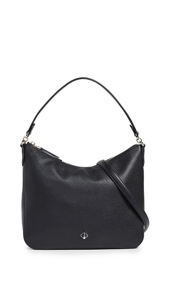 Kate Spade New York Polly Medium Shoulder Bag in black