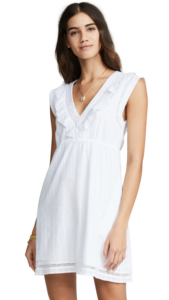 Knot Sisters Blossom Dress in white