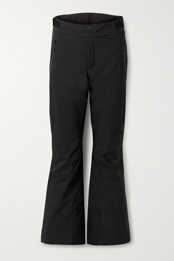 BOGNER FIRE+ICE BOGNER FIRE+ICE - Maila Canvas-trimmed Ski Pants - Black